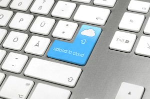 Cloud storage allows you to back up your data on an online server.