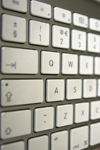 Individual keys can be easily replaced by computer users.